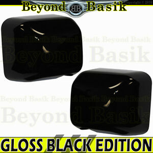 For 2007 2017 Jeep Wrangler Jk Gloss Black Mirror Covers Overlays