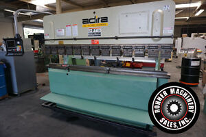 Adira 70 ton X 8 Cnc Hydraulic Up acting Press Brake Hurco Autobed 7 1996