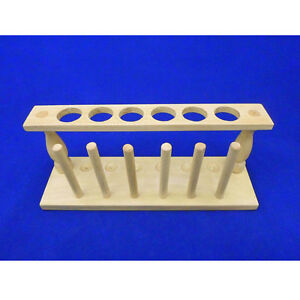 Test Tube Stand Wooden La622 0025