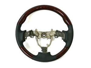 Lexus Is250 Is350 Rose Red Wood Black Leather Steering Wheel Xe20 2is