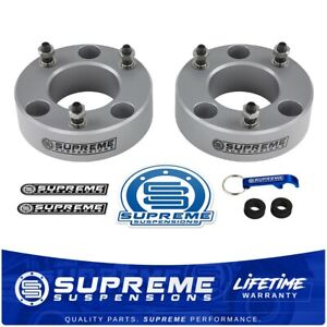 2 5 Front Leveling Lift Kit 2003 2019 Ford F150 Expedition 2wd 4wd Pro Silver