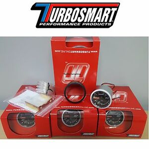 New In Stock Turbosmart 0 30psi Turbo Boost Gauge 2 1 16 52mm W All Hardware