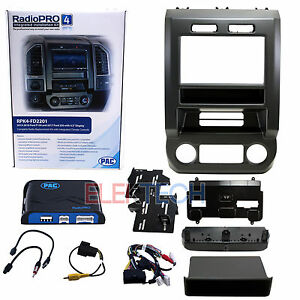 Rpk4 fd2201 Radio Replacement Kit W integrated Climate Control For 2015 19 Ford