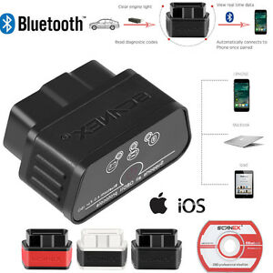 Obd2 Obdii Auto Bluetooth V4 0 Diagnostic Scanner Tool For Ios Iphone Ipad