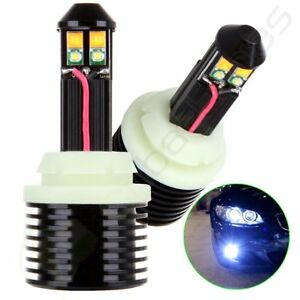 2x Cree Luminous 1157 Xenon White Amber Dual Color Canbus Led Turn Signal Light