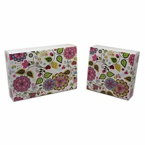 Foldable Kraft Paper Gift Boxes Recyclable Eco friendly Wedding Party Favor Pack