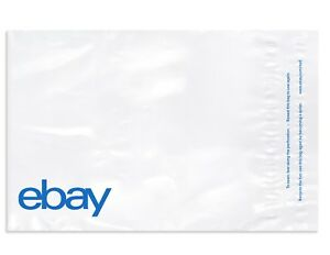 New Edition Ebay branded Polymailer With Blue Print 6 25 X 8 5 no Padding
