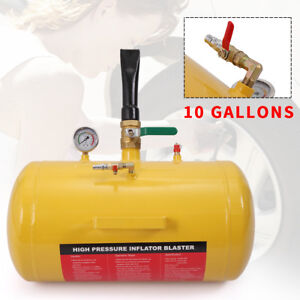 10 Gallon Air Tire Bead Seater Blaster Tool Seating Inflator Truck A
