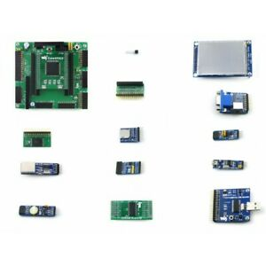 Altera Fpga Board Ep2c5 For Cyclone Ii Series With 3 2inch Touch Lcd 12 Modules