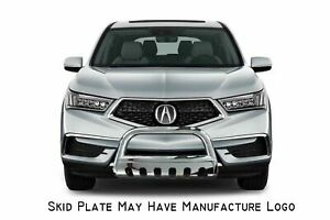 Apu Fits 14 20 Acura Mdx Stainless Steel Brush Bumper Protector Guard Bull Bar