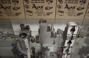12 Ajax Lathe Chuck Jaw Tool 3 Hard Jaws T g