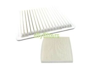 Combo Set Air Filter Cabin Air Filter For 2006 17 Toyota Tacoma 2 7l
