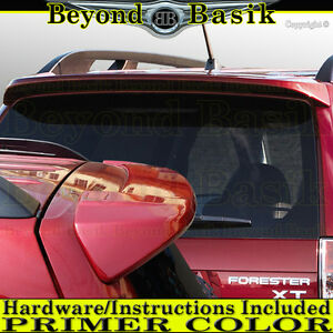 For 2009 10 2011 2012 2013 Subaru Forester Spoiler Factory Style Wing Primer