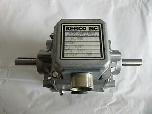 Kebco 06 10 370 Gear Motor 12vdc 1 2 In Out New Free Shipping