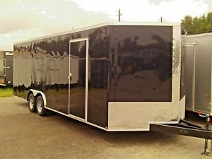 New 8 5 X 24 Heavy Duty Enclosed Cargo Trailer All Tube Main Frame