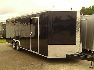 New 8 5 X 24 Heavy Duty Enclosed Cargo Trailer