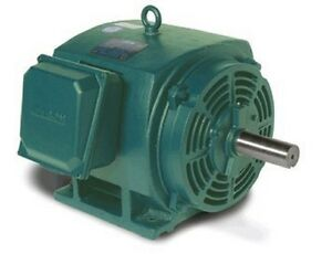 Leeson Electric Motor 170042 60 60 Hp 3555 Rpm 3ph 208 230 460 Volt 326ts Frame