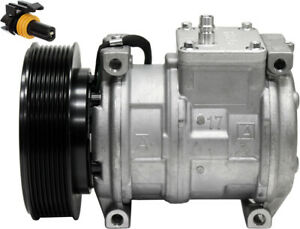 At168543 Compressor Denso 10pa17c Style For John Deere 700h 700j Crawlers
