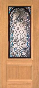 Beautiful Stained Glass Custom Entry Or Interior Door Jhl164