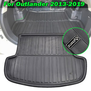 For Mitsubishi Outlander 2013 2019 Rear Trunk Tray Boot Liner Cargo Floor Mat