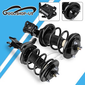 Front Pair Complete Shocks Struts Springs Assembly For 2001 2005 Honda Civic