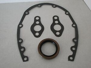 Small Block Chevy Timing Cover Gasket Set With Seal Sbc 283 327 350 383 9085