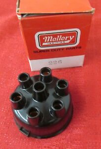 Mallory Distributor Cap 226 6 Cyl Engines