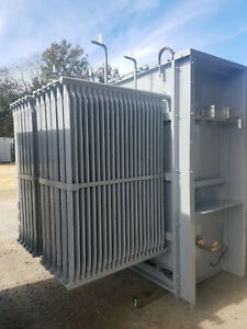 Ge Substation Transformer 5000 Kva Primary 13800 13200 Secondary 2400y 1385