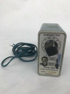 Tektronix Type 134 Current Probe Amplifier With Cord
