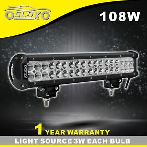 Sldx 17 108w Off Road Cree Led Light Bar Combo For Jeep Suv 4wd Led 12v Ip68