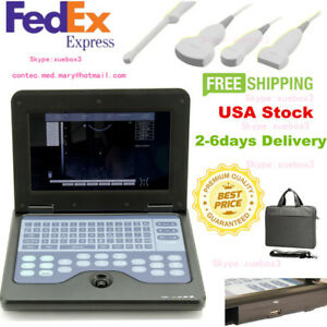 Usa Digital Ultrasound Scanner Diagnostic Machine Convex linear cardiac vaginal