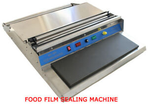 17 Inches 450mm Food Tray Wrapper 110v Sealing Bags Film Wrap Sealer