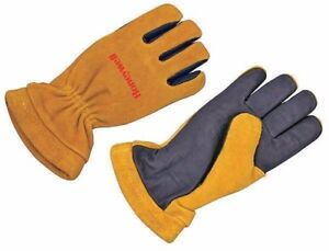 Honeywell Size 3xl Firefighters Fireman Gloves Gold blue Gl 9550 3xl
