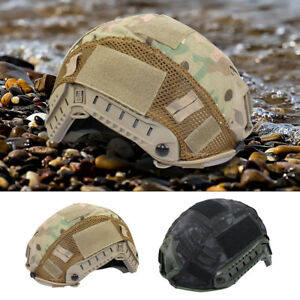Tactical Military Helmet Cover for Ops-Core Fast Helmet BJPJMH Hunting MR Camo