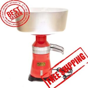 Cream Milk Separator Centrifugal Electric Metal 100l 220v Worldwide New