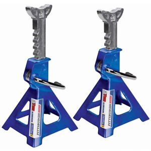 3 Ton X2 Heavy Duty Aluminum Jack Stands Lift And Hold Up Heavy Trucks And Cars
