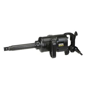 1 In Industrial Pinless Air Impact Wrench With High Force And Less Vibration