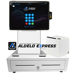 Pos x Isappos 9a Restaurant Stand Ipad Air 2 Pro 9 7 Black For Aldelo Touch New