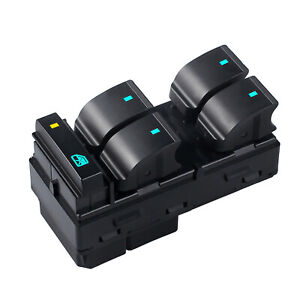 Window Master Power Switch For Chevrolet Silverado Gmc Sierra Driver Side 4 Door