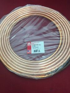 New Streamline Refrigeration Tube Dehydrated 1 2 O d 032 Wall 50 Copper Coil
