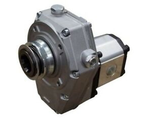 Flowfit Hydraulic Pto Gearbox And Group 2 Pump Assembly Aluminium