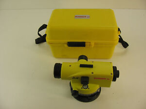 Leica Runner 24 Automatic Optical Level For Surveying 1 Month Warranty