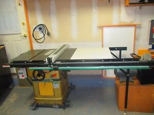 Powermatic 66 Cabinet Table Saw W New 3 Hp 1 Phase Motor In Great Condition