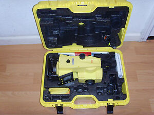 Leica Builder 505 Reflectorless Total Station Laser Distance Survey Surveying