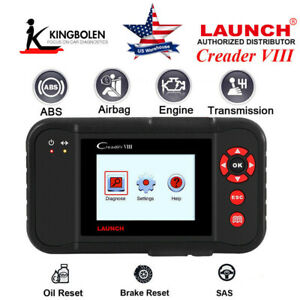 Launch X431 Creader Viii Obd2 Eobd Auto Diagnostic Tool Coder Reader As Crp129
