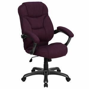 Flash Furniture Grape Executive Swivel Office Chair Go 725 grpe gg