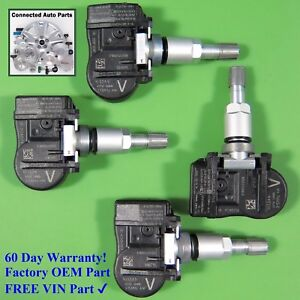 Set Of 4 Nissan Tire Pressure Sensor Tpms Oem 40700 3an0b V W o Keyless Set ts68