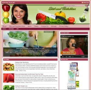 diet Nutrition Turnkey Website For Sale turnkeypages