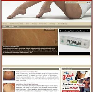 stretch Marks Turnkey Niche Website For Sale turnkeypages