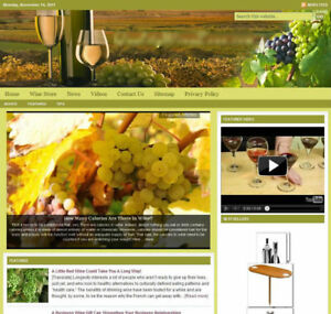 wine Turnkey Website For Sale turnkeypages